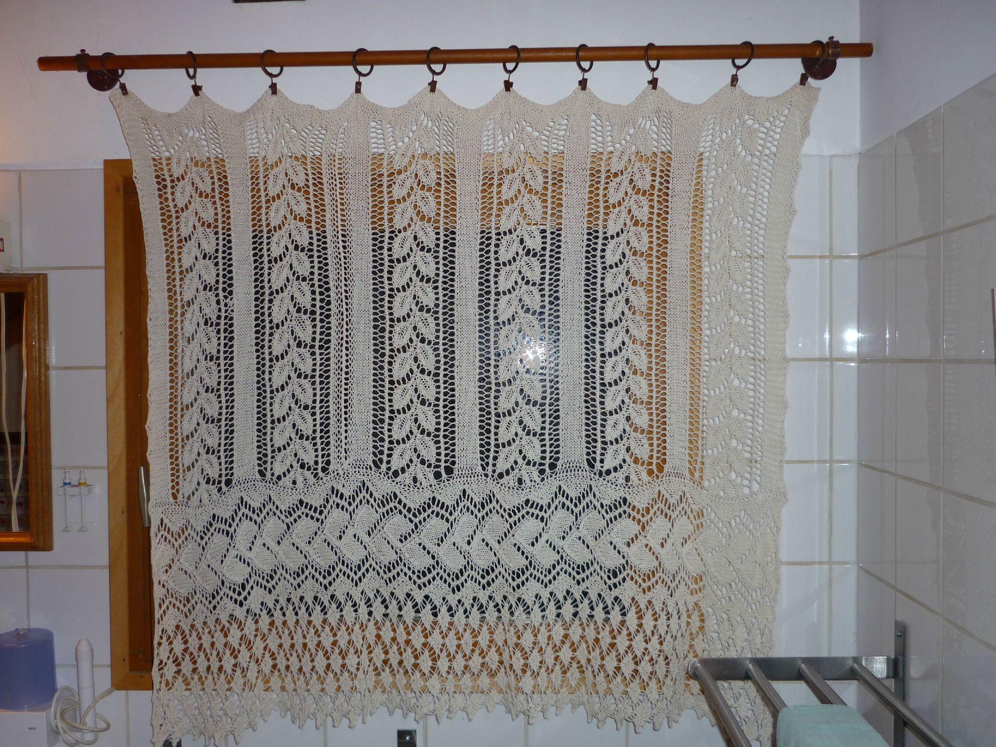 Comment Tricoter Rideaux