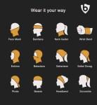 multifunctional wearability snood