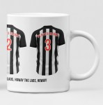 Newcastle United Personalised Player and Text Mug