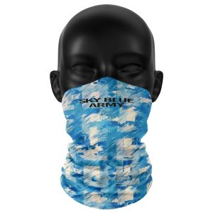 Retro Sky Blue Army Snood