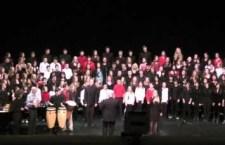 """Jambo"" – by Langley Fine Arts School Choir – 2012"