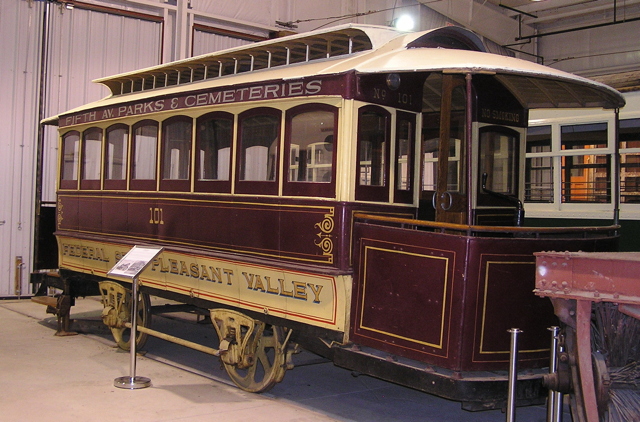 Trolley Display Building, 2008 (Bruce Wells photo)