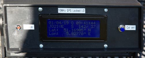ON4CDU, GPS frequency standard & much more – The PA3CSG website