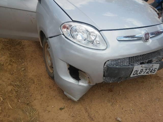 Mais um assassinato na região. Imagem do carro usado no crime