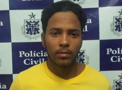 Lucas Silva foi localizado pelas equipes da 18ª Coorpin/Sede e DT/Paulo Afonso, no bairro Jardim Aeroporto (Foto: ASCOM-PC)