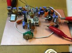 WSPR-RX 2 on testing bench