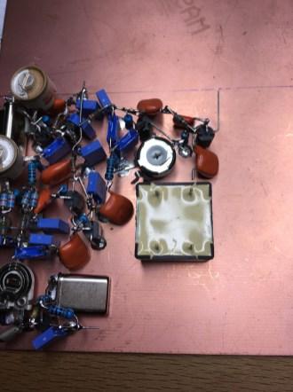 Audio transformer WSPR RX 1
