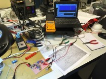 WSPR RX 2 on the test bench