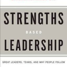 afbeelding boek, Strengths Based Leadership
