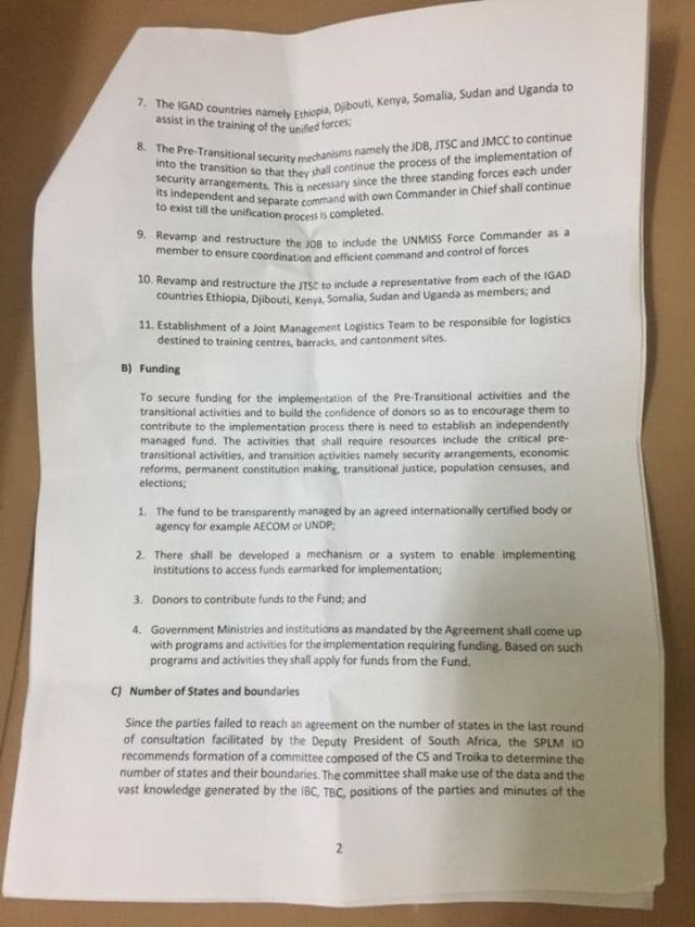 SPLM-IO Preconditions2 for the Formation of the R-TGONU in Feb 2020