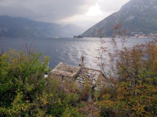 die Bucht von Kotor beginnt