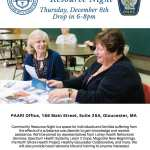 *Media Advisory* P.A.A.R.I. to Host Community Resource Night