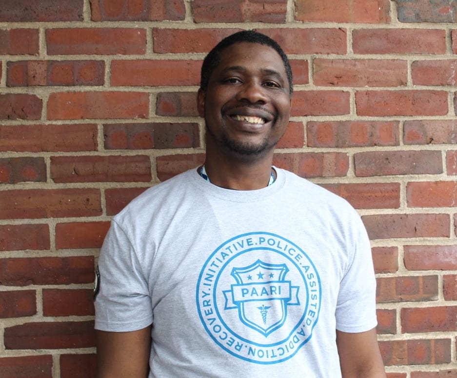 Tyshaun Perryman, Recovery Coach at Boston Police Department