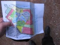Kort over Bognæs skov