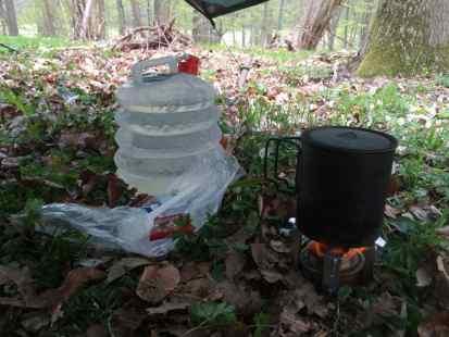 Hurtig morgenmad er somme tider bare spritbrænder og grød.