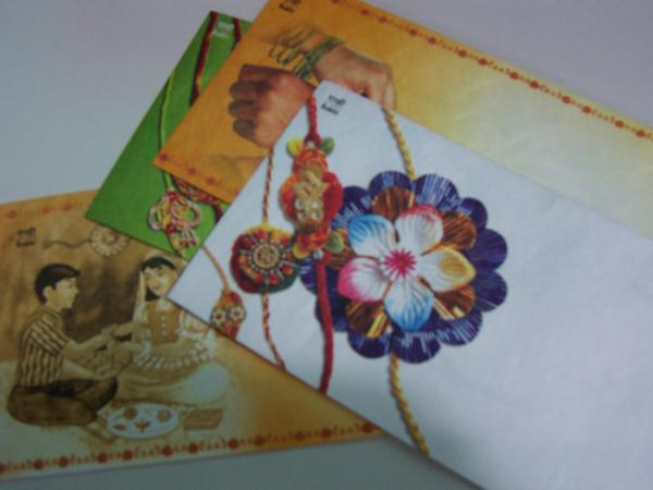 Rakhi envelopes- Tyvek.
