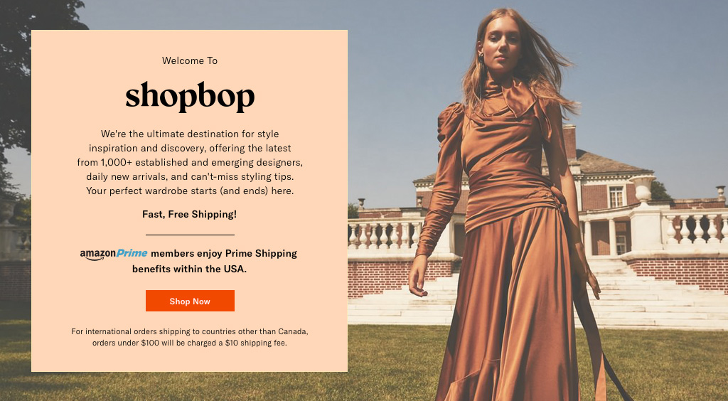 Amazon Global Fashion Shop-Shopbop