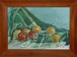 Oil painting, still life. painting by Jimmy.