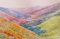 landscape, watercolor on paper, 2 (800x530)