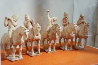 Musicians on Horseback, China, Tang Dynasty 618-907