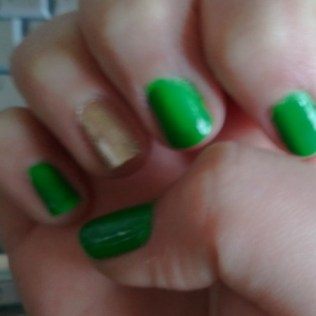 St Paddys Day Nails