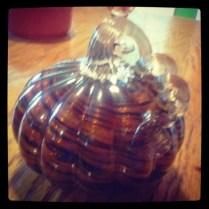 Glass Pumpkin