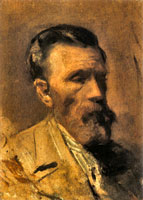 Portrait of Pablo Picasso's father