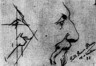 Study of man with beard, 1892/1893