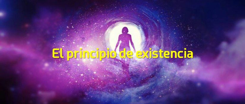 el principio de existencia