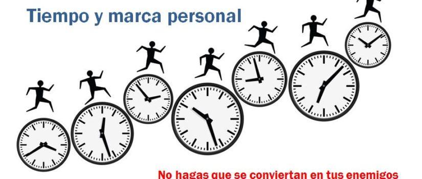 tiempo y marca personal