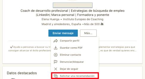 Linkedin recomendaciones