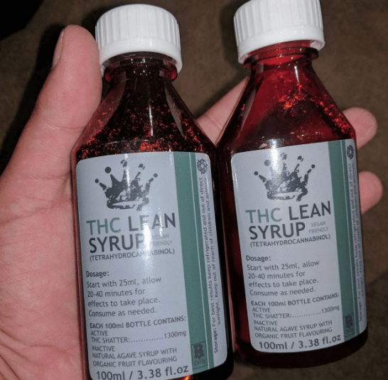 1300mg THC Lean Syrup