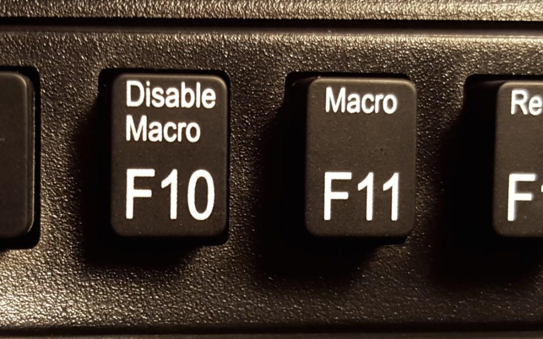 Macros, the Lisp advantage