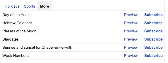 Using Week Numbers in Google Calendar - More