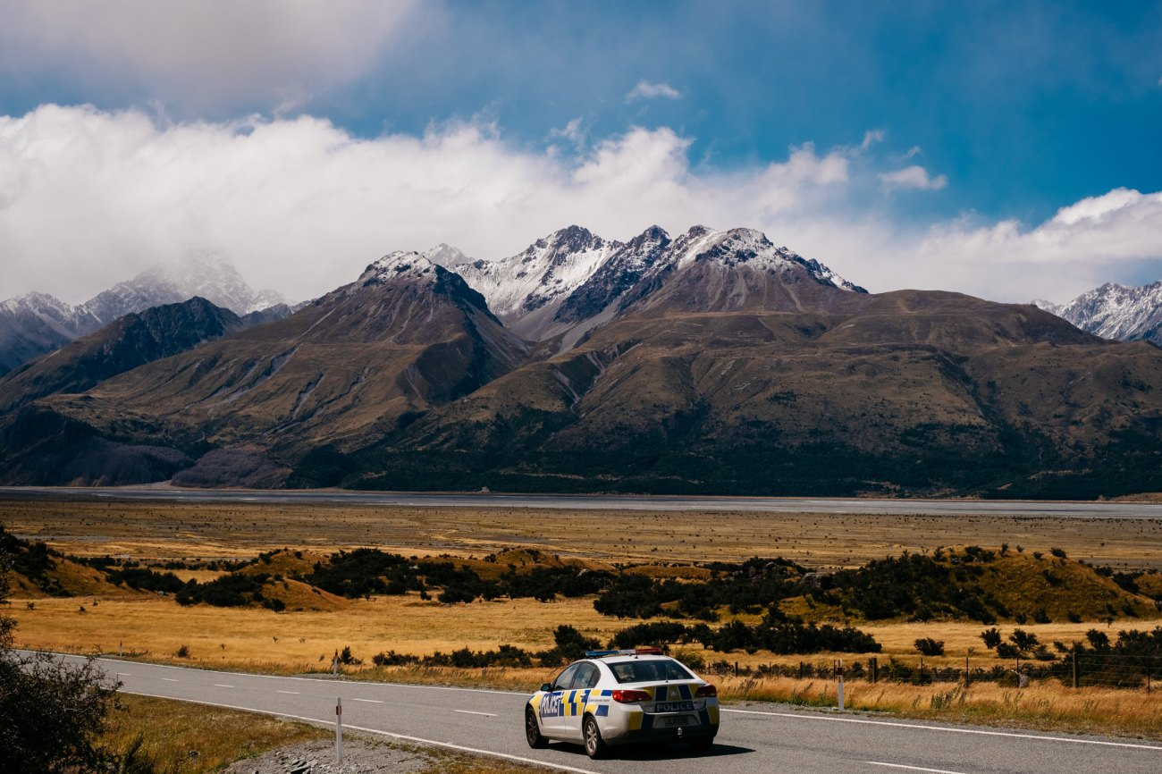 Mt cook road