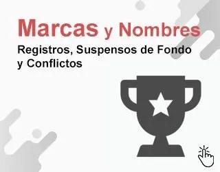 Conflictos de Marcas Oposición Defensa Registro Infracción Nombres Comerciales P0105