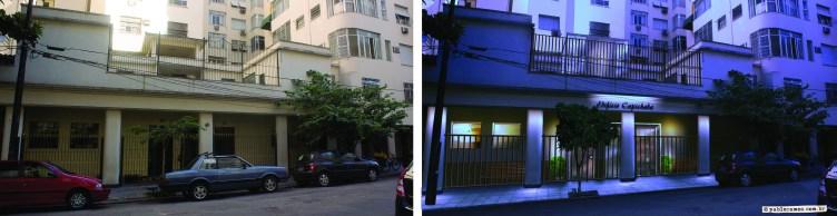 Projeto de iluminação, Condompinio São Thomás - 2011
