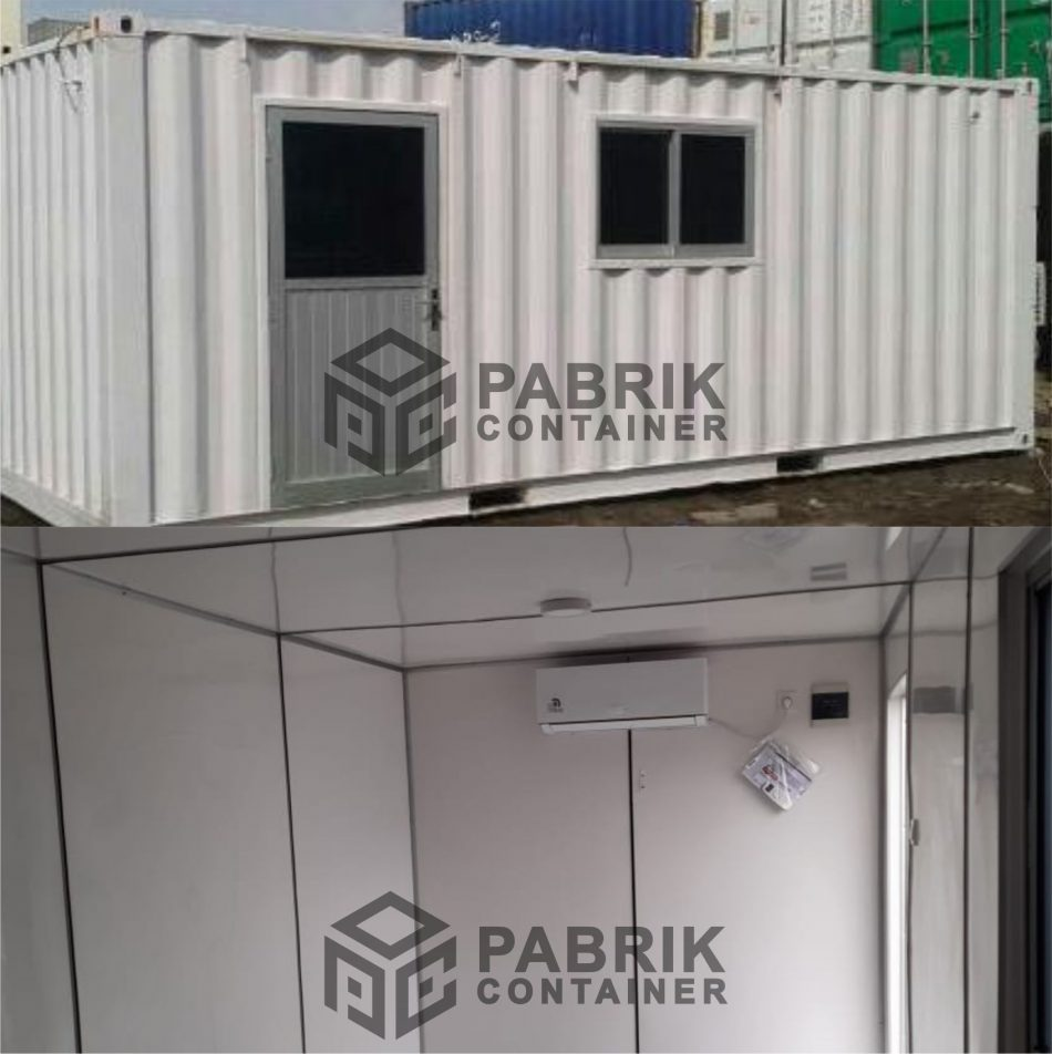 Jual office container 20 feet
