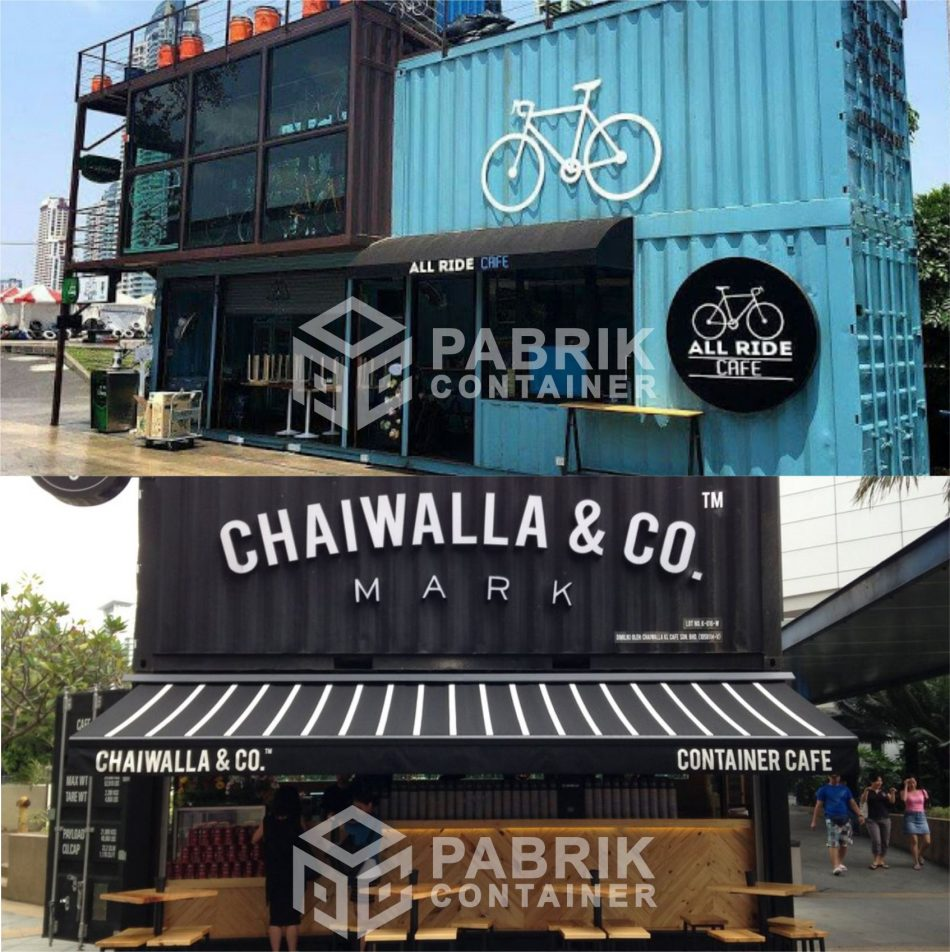 jual cafe container murah