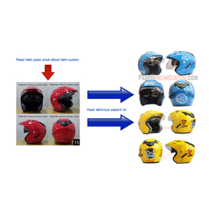 Tips Memilih Helm Custom