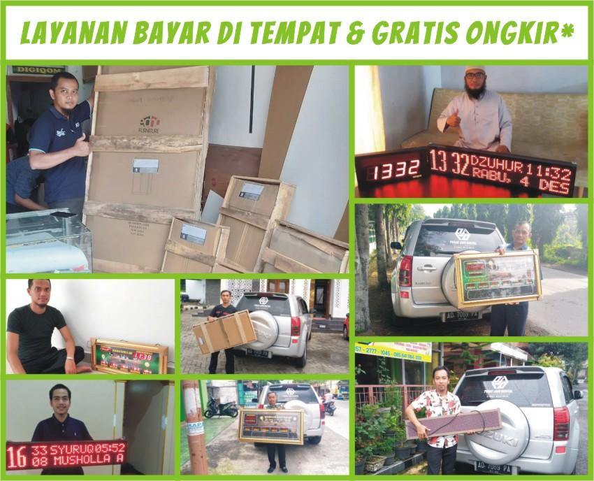 Pabrik Jam Masjid Gratis Ongkir Bayar di Tempat