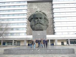 The Karl Marx Bust, the tallest bust in the world. Thanks to Adam Franzke for the photo!