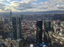 View from one of the skyscrapers