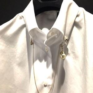 Camisa popelin joya Ermanno Scervino