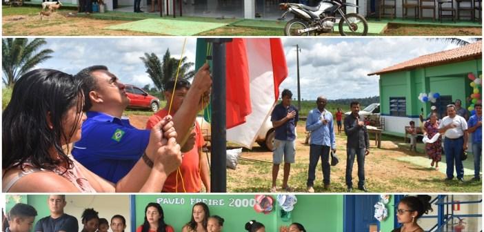 Escola Paulo Freire II é inaugurada na Vicinal São Luís, ramal Cobra Verde