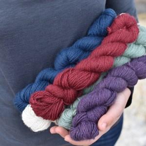 Cumberland Coast DK yarn all colors