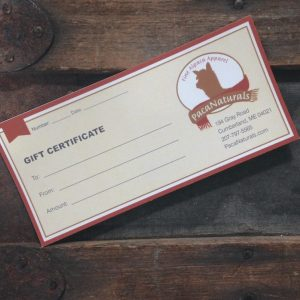 PacaNaturals Gift Certificate