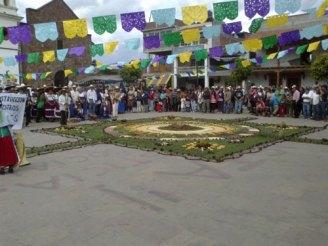 Imagen 3. Fuente: Ceremonia de toma de posesión de los integrantes del K'eri Janaxkaticha de Cheran, Michoacán de Ocampo, tomada por la Maestra Parastoo Anita Mesri Hashemi-Dilmaghani, el 5 de febrero de 2012.