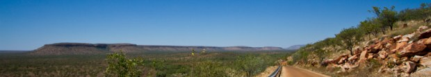 View over the King Leopold Ranges