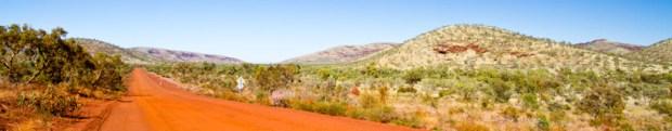 Karijini typical landscape